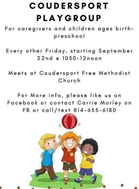 11-3 Coudersport Playgroup