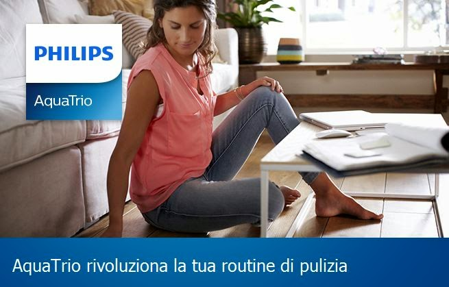 aquatrio pro tre in uno aspira lava e asciuga grazie a philips. Black Bedroom Furniture Sets. Home Design Ideas