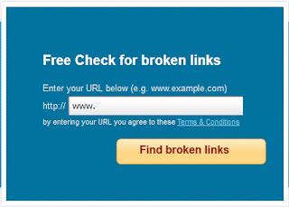 Menemukan broken link pada halaman blog
