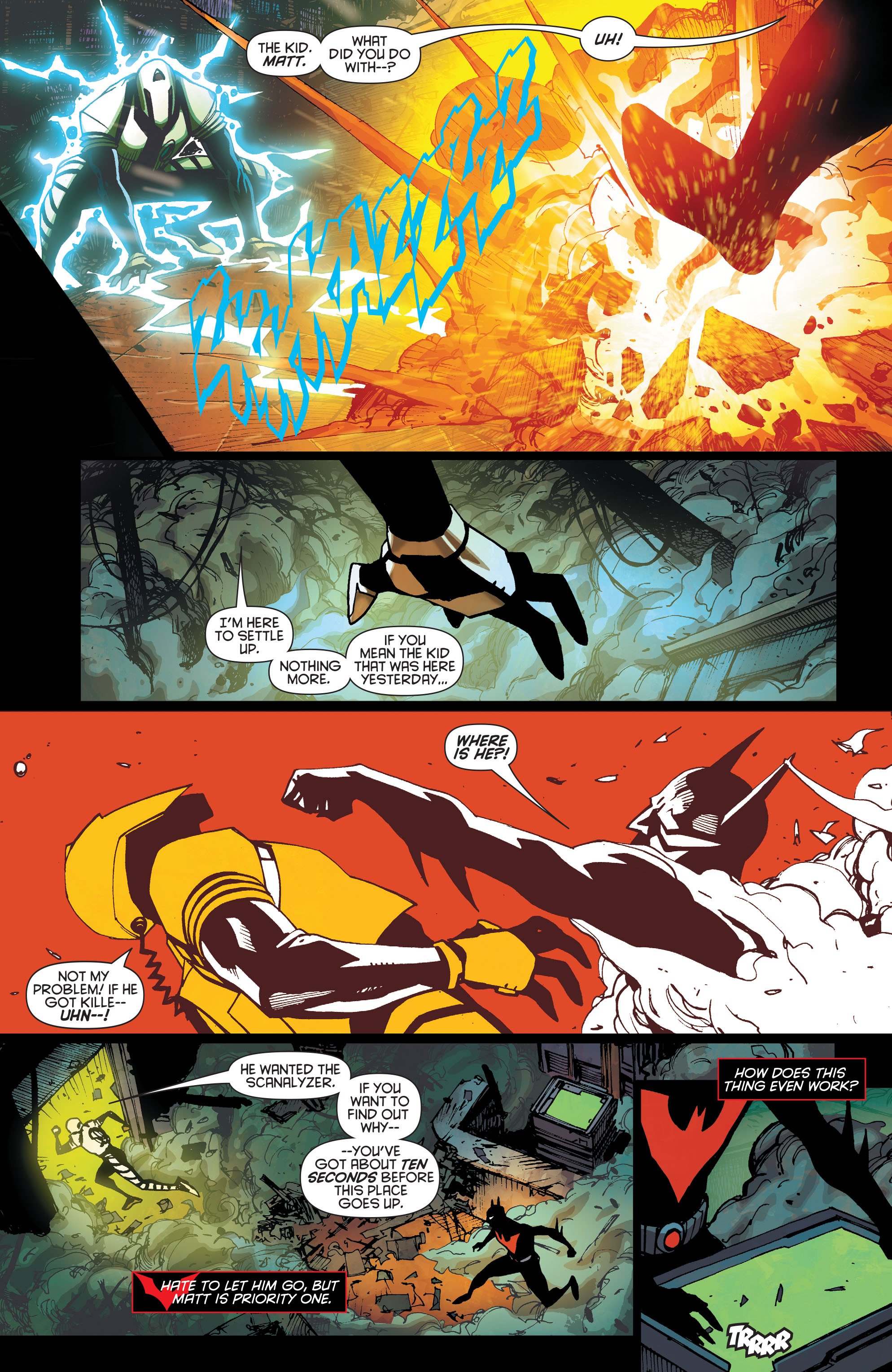 Batman Beyond (2015) Issue #8 #8 - English 6