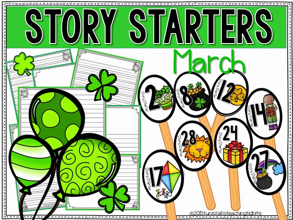 https://www.teacherspayteachers.com/Product/Story-Starters-March-1708284