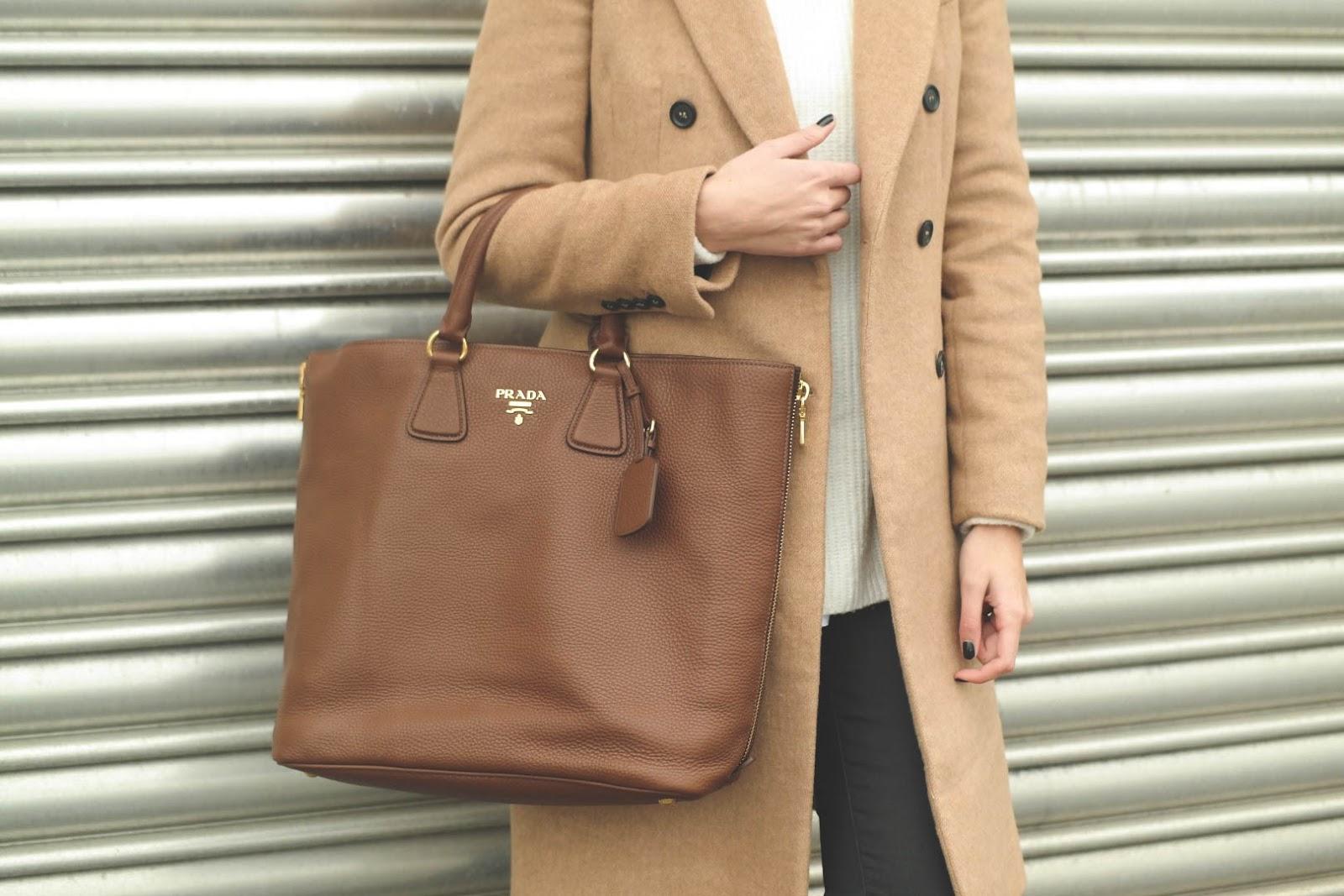 Zara basic mantel camel