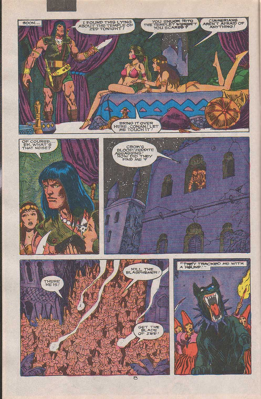 Conan the Barbarian (1970) Issue #216 #228 - English 7