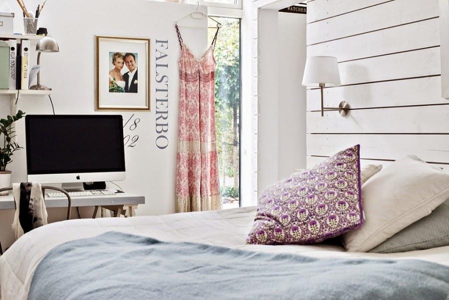 wystrój wnętrz, wnętrza, urządzanie mieszkania, dom, home decor, dekoracje, aranżacje, mieszanka stylów, białe wnętrza, otwarta przestrzeń,sypialnia