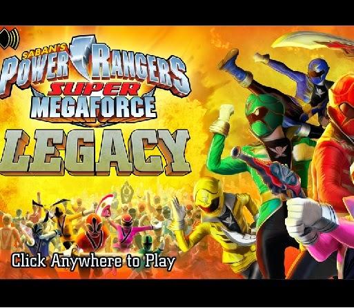 Juego Power Rangers Megaforce de Cartoon  Juegos de Cartoon LA