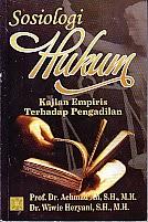 toko buku rahma: buku SOSIOLOGI HUKUM, pengarang achmad ali, penerbit kencana