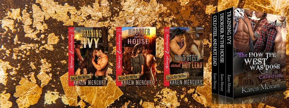 Karen Mercury, Romance Author