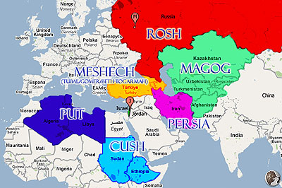 Bible prophecy signposts of the times containing iran israel if you look at the map above which is of the invading goggog nations which will march on israel you will note that saudi arabia and the other nations gumiabroncs Images