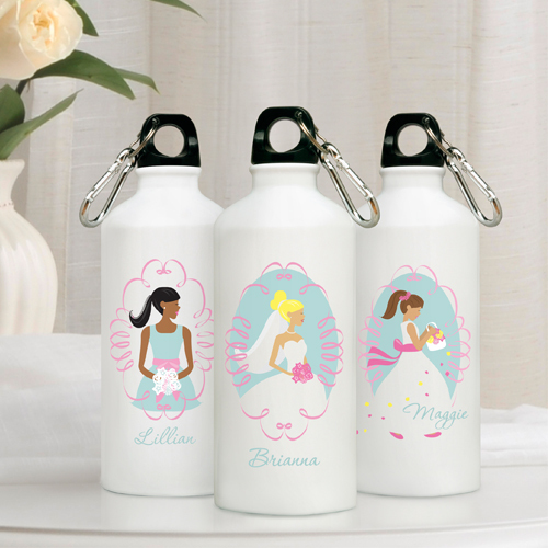 Cool Wedding Party Gifts : ... www beau coup com wedding personalized bridal party water bottle htm