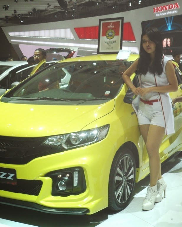 SPG Honda New Jazz IIMS 2014