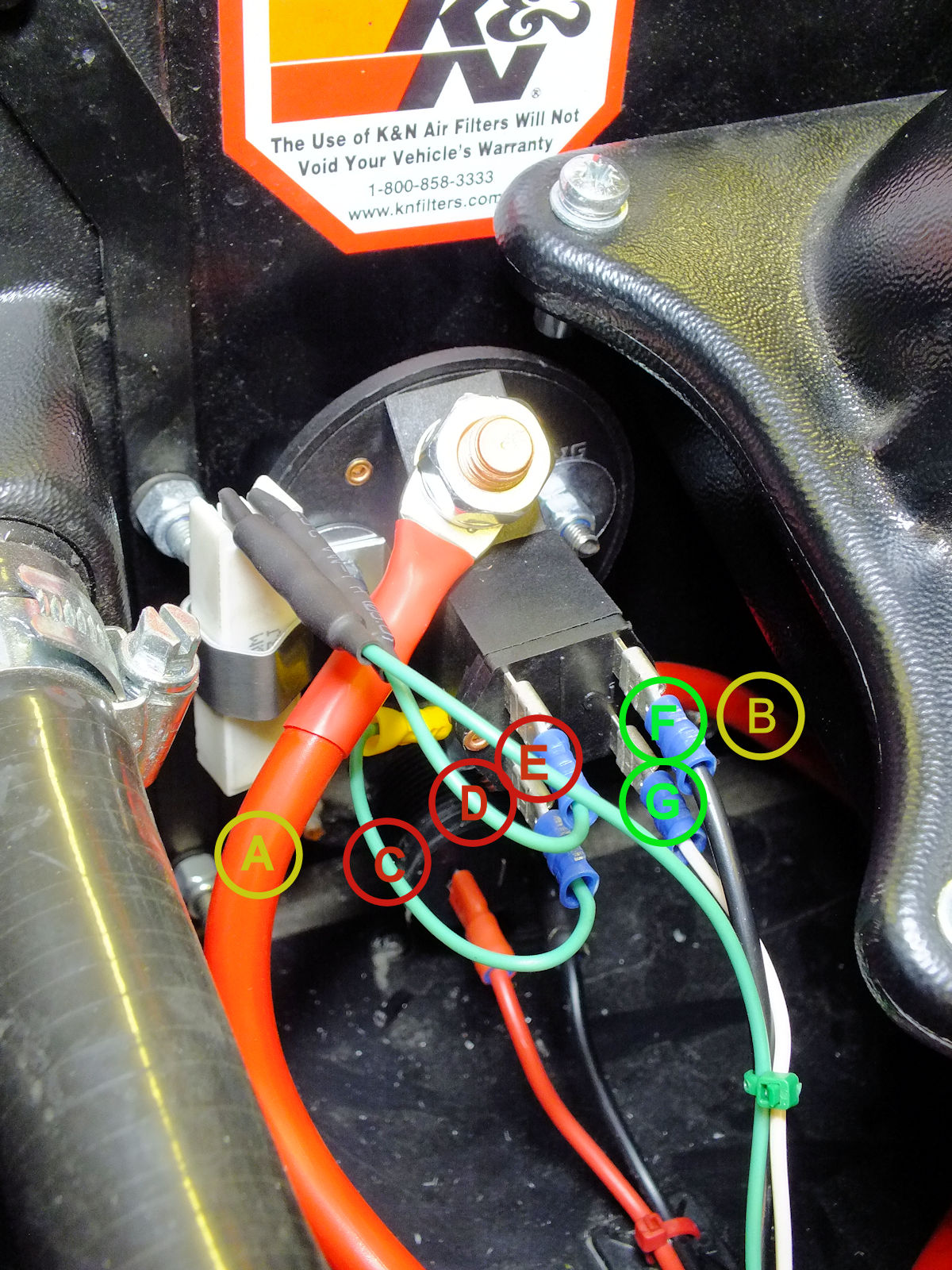 Pleasant Caterham Seven Build Battery Master Switch Install Wiring Digital Resources Helishebarightsorg