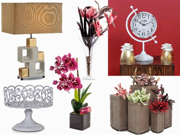 interwood artificial decor pieces