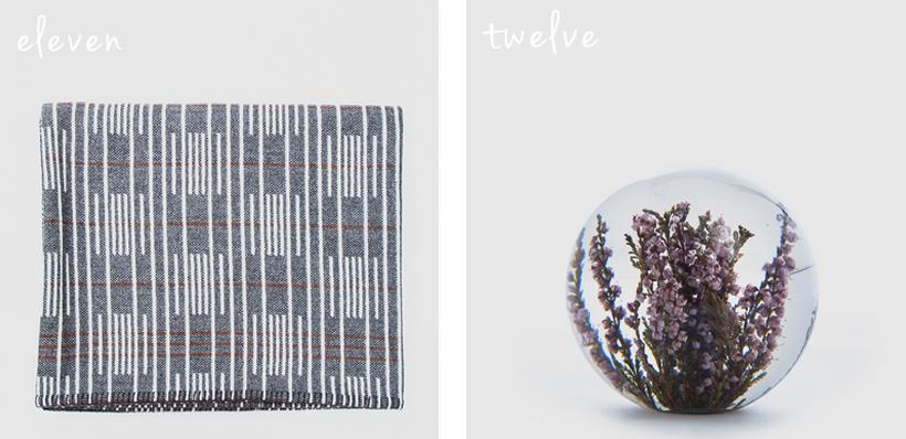 Eleanor Pritchard Trunk Signal Blanket // Hafod Grange Paperweight