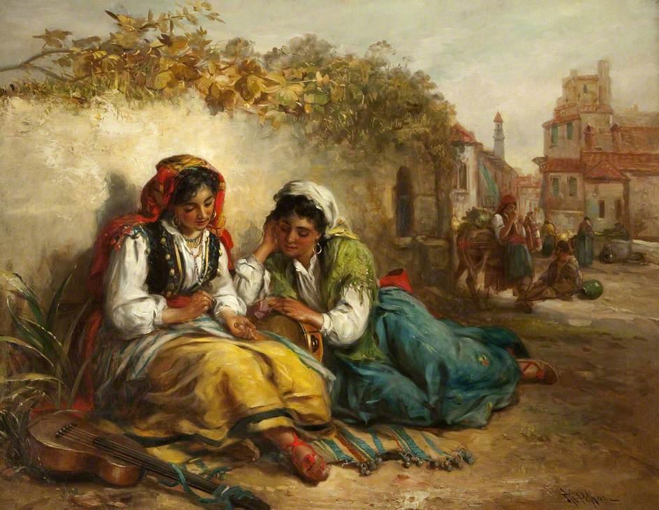 Victorian british painting thomas kent pelham for The pelham