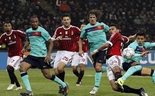 Barcelona Vs Ac Milan 2012