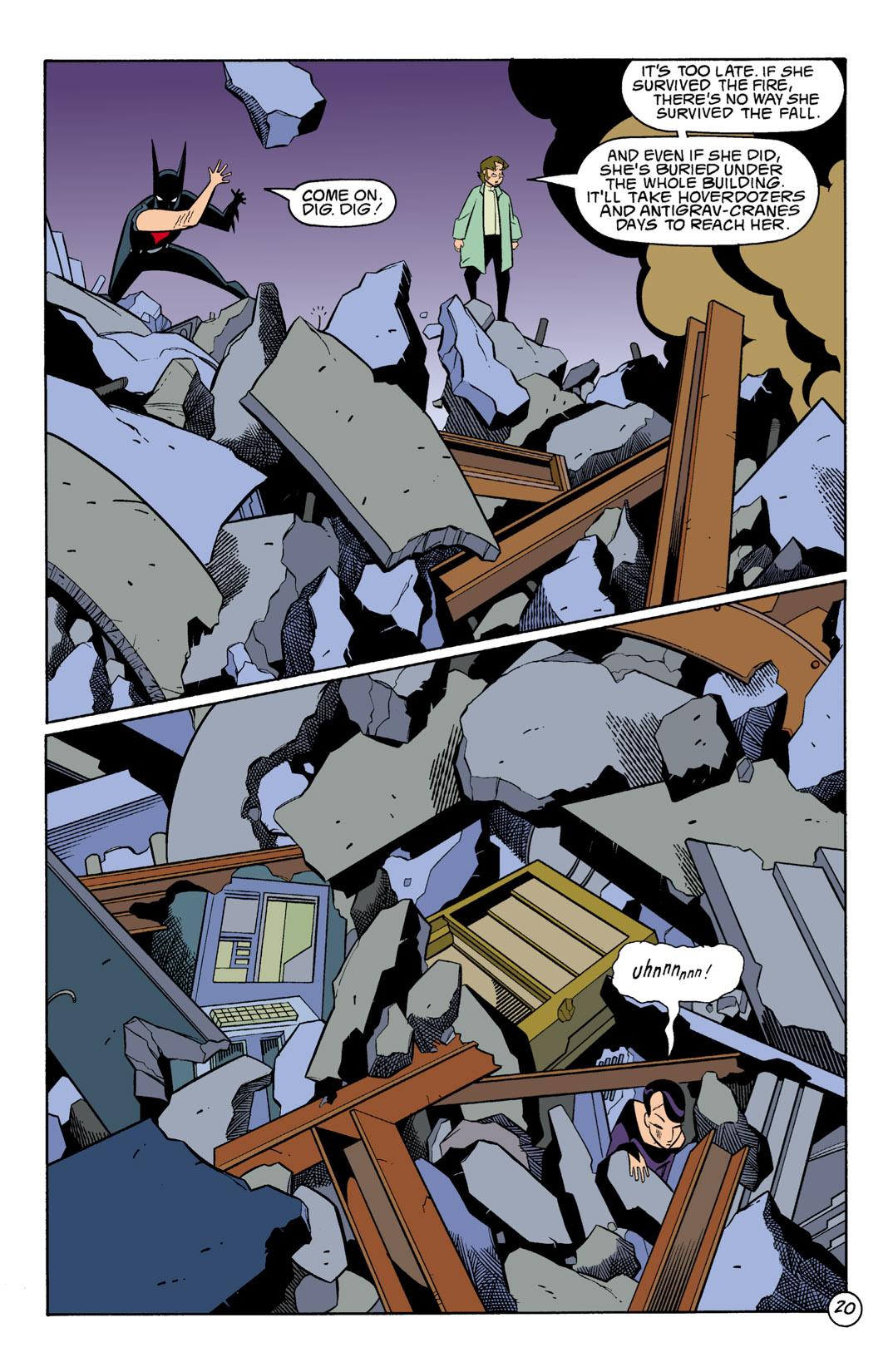 Batman Beyond [II] Issue #2 #2 - English 21