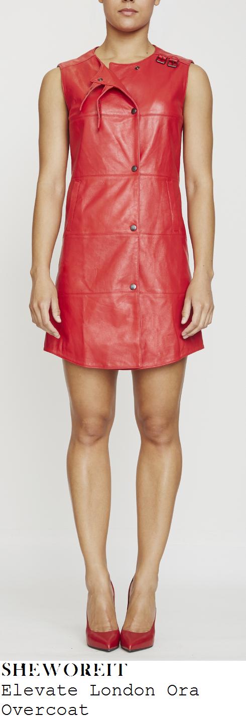 fleur-east-red-sleeveless-press-stud-leather-mini-dress-x-factor