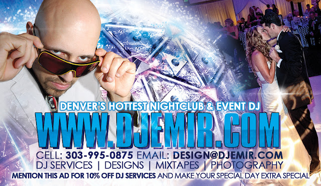 dj emir denver dj services and designs