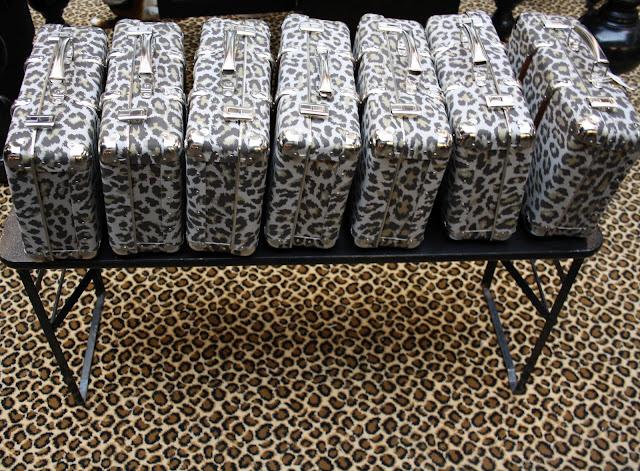 Valise léopard