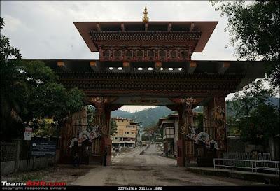 Dragon Gate in Bhutan