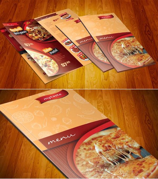 Beautiful restaurant menu designs inspiration design
