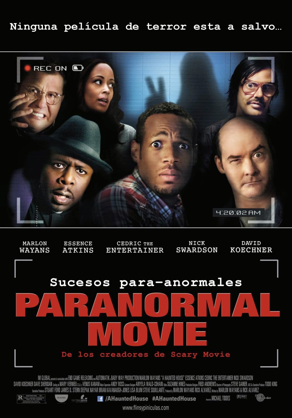 Paranormal Movie (2013) [DVDRip]