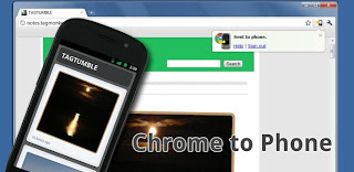 Google Chrome to Phone apk for Android Browser extension