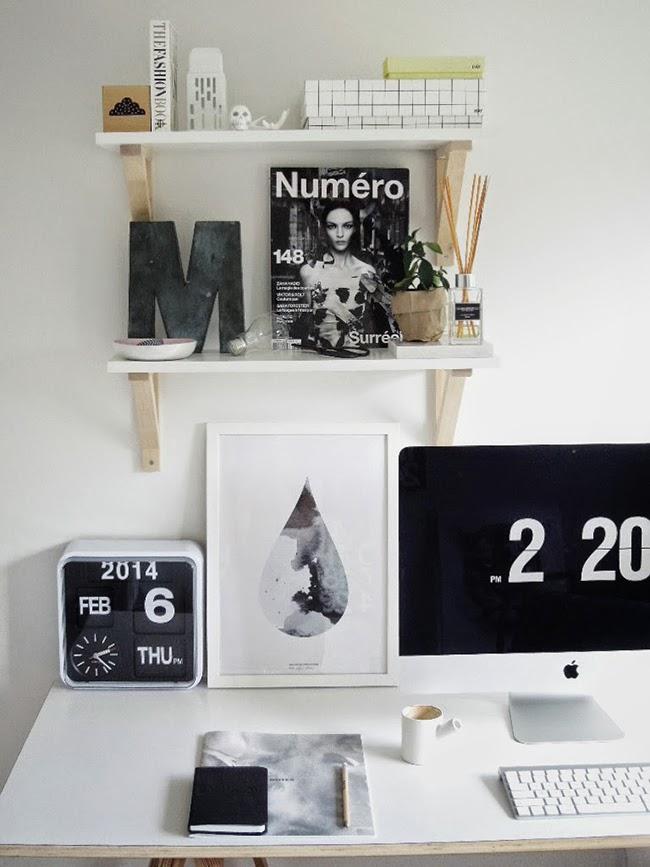 Consigue un despacho low cost como el de las fotos del post de hoy
