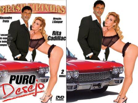 Alexandre Frota com Rita Cadillac
