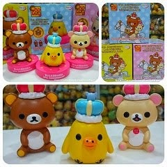 (INSTOCK) 2013 10th Anniversary Rilakkuma Wonderland Figurines