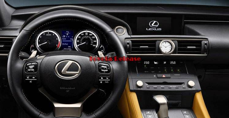 2015 Lexus RC 350 Release Date and Space