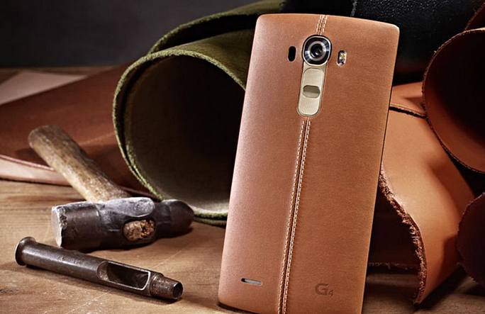 LG G4 Real Leather