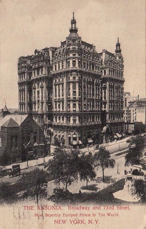 The Ansonia Hotel 1909