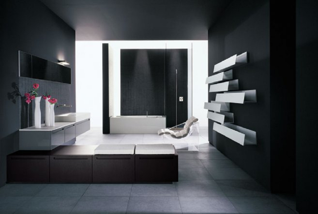 Decoraci n cuarto de ba o moderno 2013 decoraci n del - Fotos de cuartos de bano modernos ...