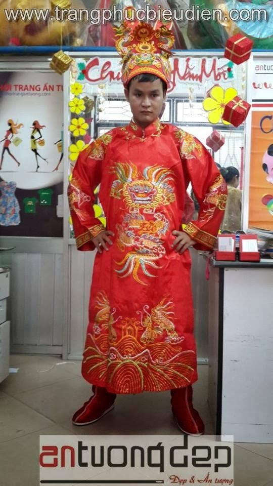 may bán thuê trang phục tướng quân
