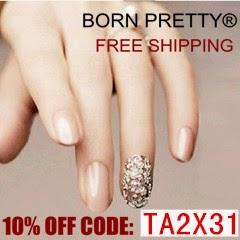 Kod na wykorzystanie w sklepie Born Pretty Store.