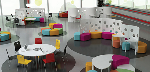Innovative Use Of Classroom Space ~ How offices schools and restaurants benefit from urban
