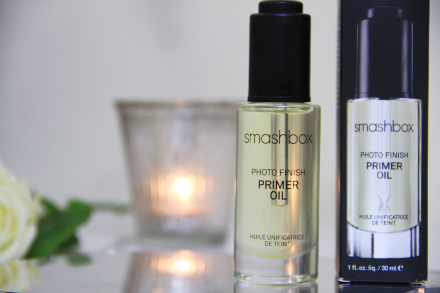 how to use smashbox photo finish primer oil