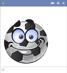 Soccer Ball Smiley Face