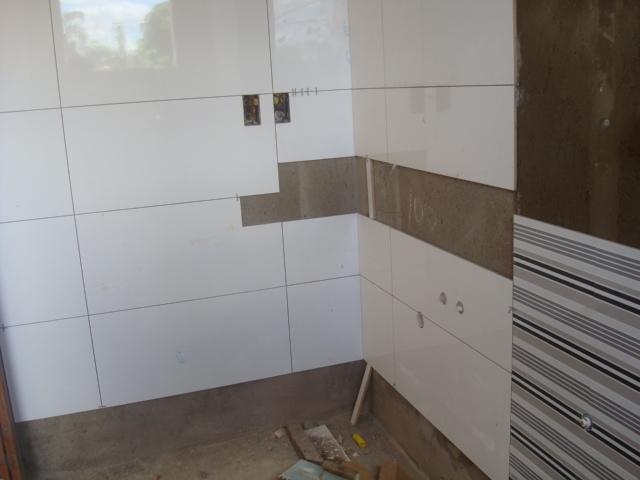 Construindo um Castelinho Um pouquinho do interior da casa # Azulejo Cozinha Horizontal