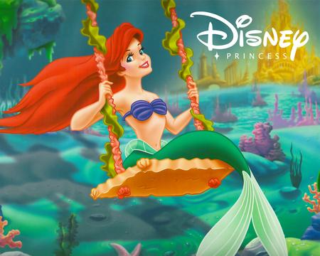 Group Of Ariel Princess Wallpaper