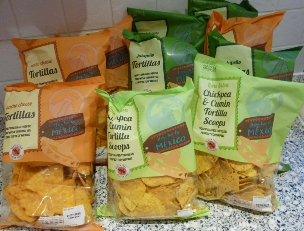Gluten free Tortilla Chips from Marks and Spencer in Luton