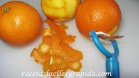 hacer naranja cristalizada
