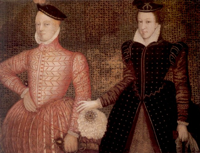 mary queen of scots and francis ii relationship