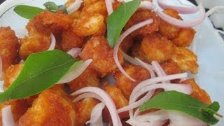 Prawn 65 in Tamil ( Eng text link description ) shrimp recipes – eral varuval