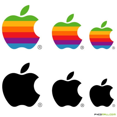 Apple Logo's Evolution