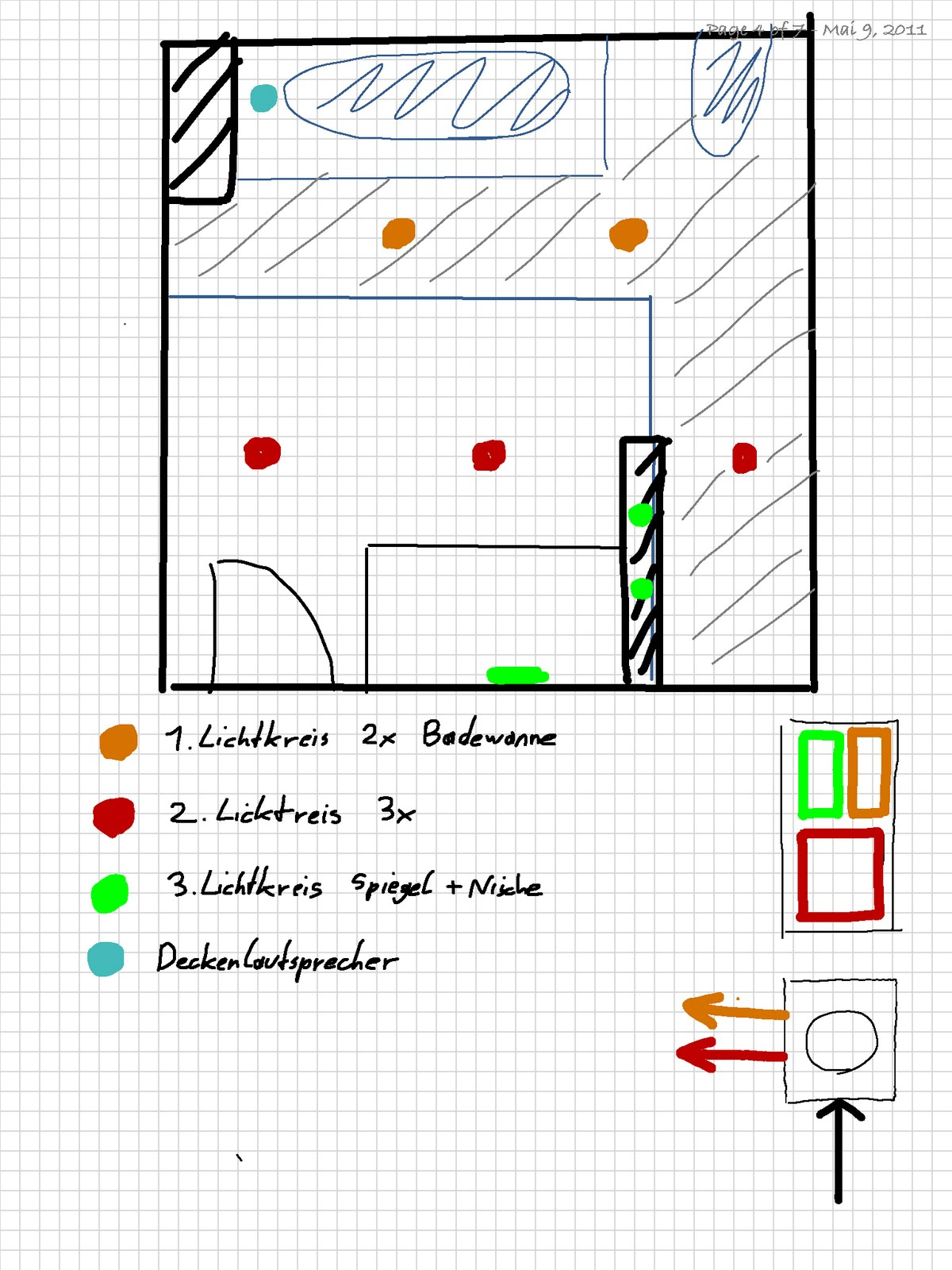 wohnungsrenovierung. Black Bedroom Furniture Sets. Home Design Ideas