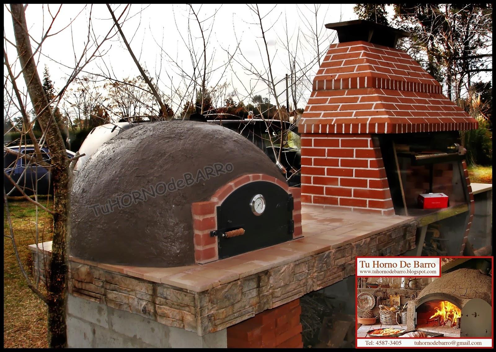 Tu horno de barro hornos de barro artesanales argentina buenos aires zona norte sur oeste - Hornos de barro ...