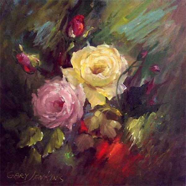 Gary jenkins american floral painter hayang modol