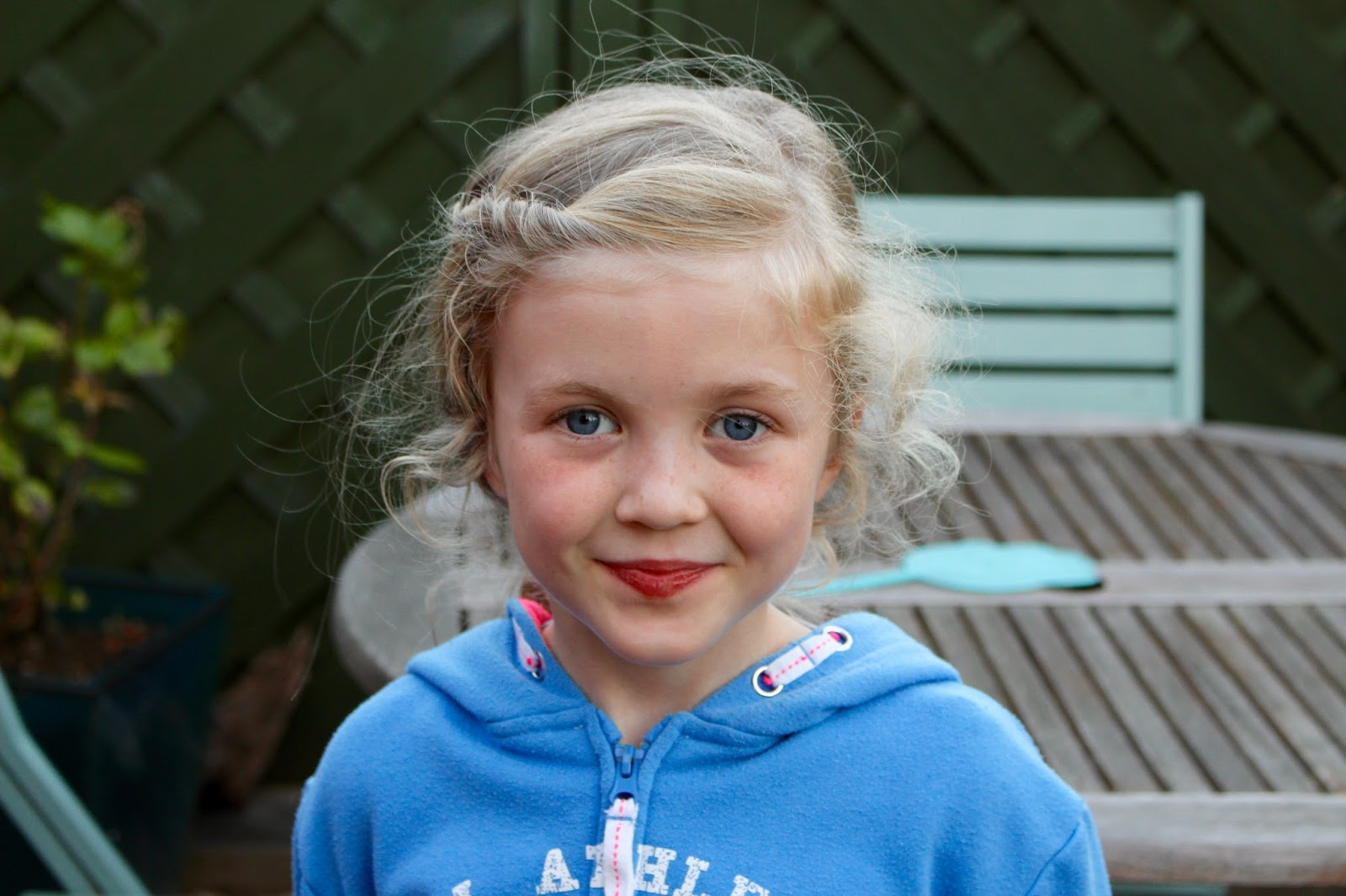 Just In Case You Thought I Had Photographed A Real Ghost, Here She Is A  Normal Little Girl After All!